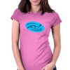 Scnhell, scnell! fish BLUE Womens Fitted T-Shirt