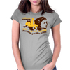 Scooter Vintage Womens Fitted T-Shirt