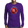 Scorpio Zodiac Symbol Mens Long Sleeve T-Shirt