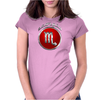 Scorpio Zodiac Symbol Womens Fitted T-Shirt