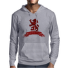 Scotland Red Lion Rampant with Scroll Mens Hoodie