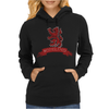 Scotland Red Lion Rampant with Scroll Womens Hoodie