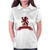 Scotland Red Lion Rampant with Scroll Womens Polo