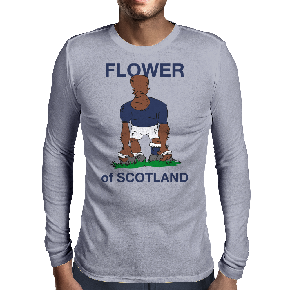 Scotland Rugby 2nd Row Forward World Cup Mens Long Sleeve T-Shirt