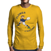 Scotland Rugby Back World Cup Mens Long Sleeve T-Shirt