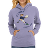 Scotland Rugby Back World Cup Womens Hoodie