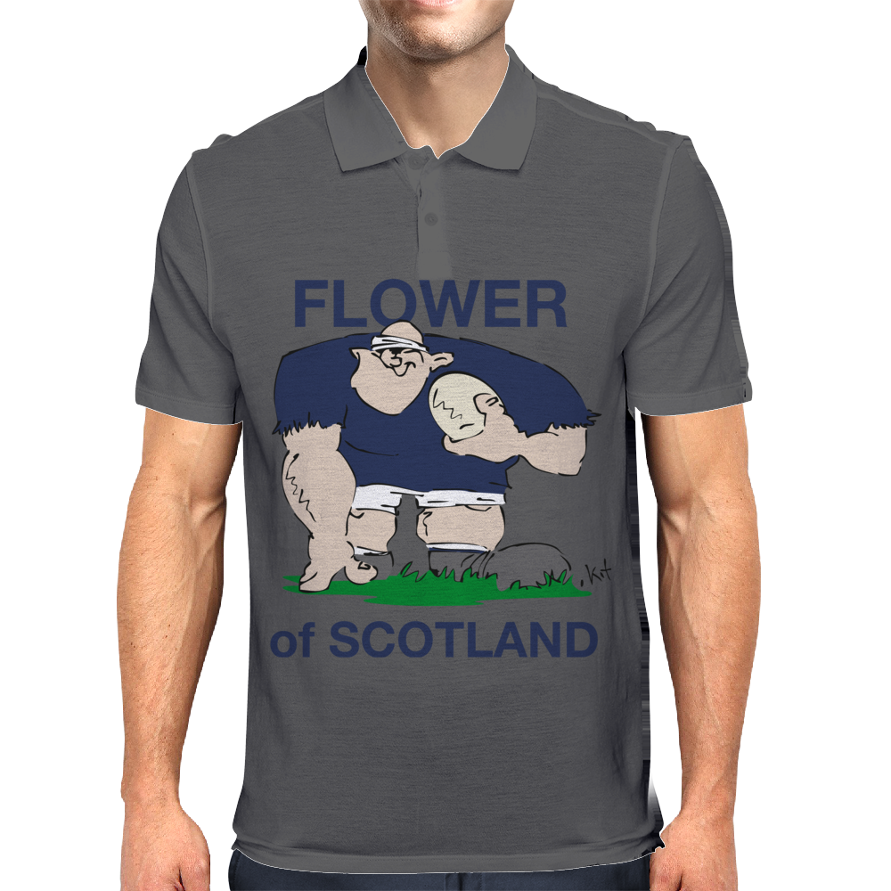 Scotland Rugby Forward World Cup Mens Polo