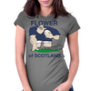 Scotland Rugby Forward World Cup Womens Fitted T-Shirt