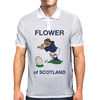 Scotland Rugby Kicker World Cup Mens Polo