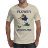 Scotland Rugby Kicker World Cup Mens T-Shirt