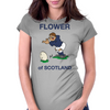 Scotland Rugby Kicker World Cup Womens Fitted T-Shirt