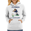 Scotland Rugby Kicker World Cup Womens Hoodie