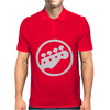 Scott Pilgrim vs The World bass guitar rockband vintage show movie tee Mens Polo