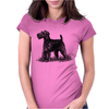 Scottish Terrier, Dog Breed Illustration Womens Fitted T-Shirt