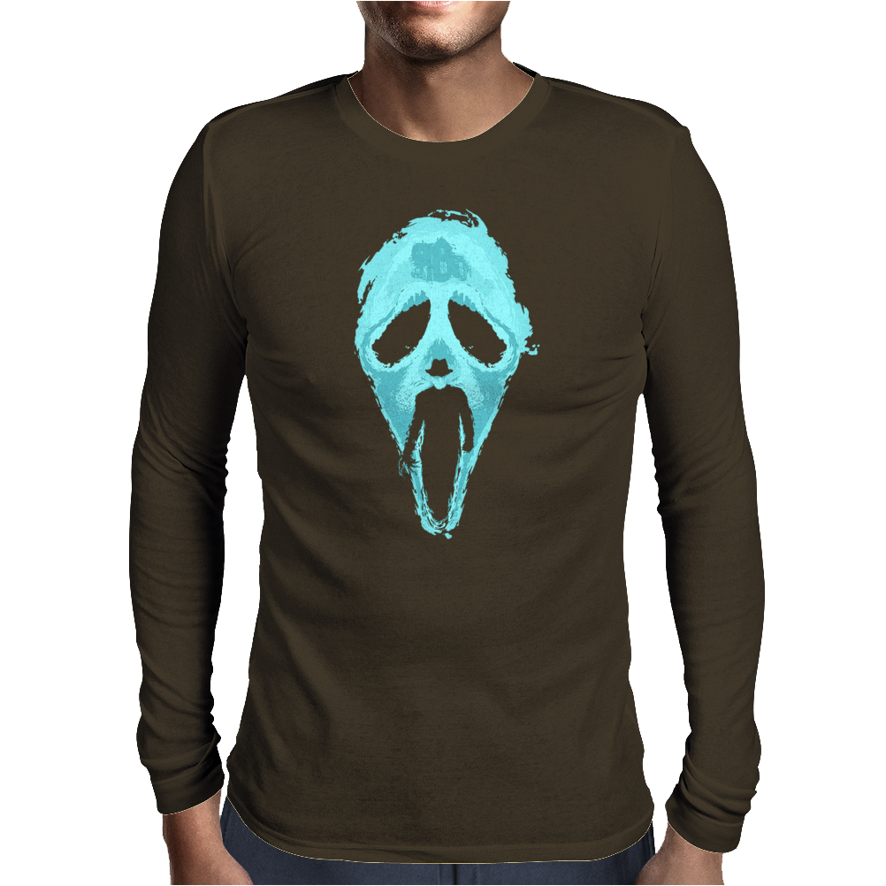 Scream Craven Mens Long Sleeve T-Shirt