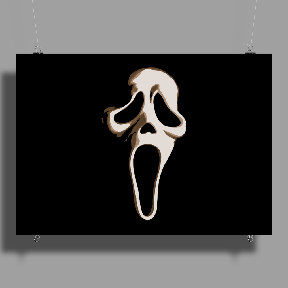 SCREAM ! Poster Print (Landscape)