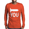 Screw you Mens Long Sleeve T-Shirt