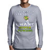 Screw Your Lab Safety I Want Super Powers Mens Long Sleeve T-Shirt