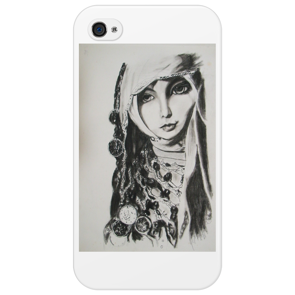 sd doll sketch Phone Case