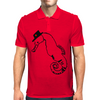 Seahorse with hat Mens Polo