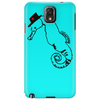 Seahorse with hat Phone Case