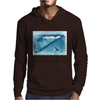 Seashell on the beach Mens Hoodie