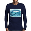Seashell on the beach Mens Long Sleeve T-Shirt