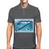 Seashell on the beach Mens Polo