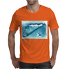 Seashell on the beach Mens T-Shirt
