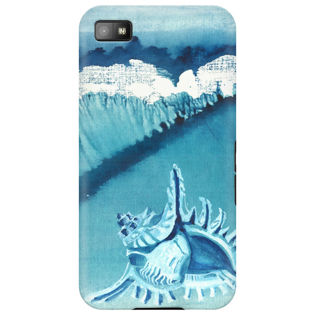 Seashell on the beach Phone Case