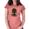 Seasonal Tree Womens Fitted T-Shirt