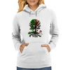 Seasonal Tree Womens Hoodie