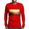 seated Mens Long Sleeve T-Shirt