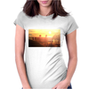 seated Womens Fitted T-Shirt
