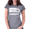 Seattle Seahawks 2 Womens Fitted T-Shirt