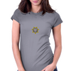 Secret Police Shhh! Womens Fitted T-Shirt