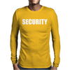 Security Mens Long Sleeve T-Shirt