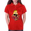 secy princess pinup Womens Polo