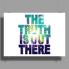 Seek The Truth Poster Print (Landscape)