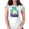 Seek The Truth Womens Fitted T-Shirt