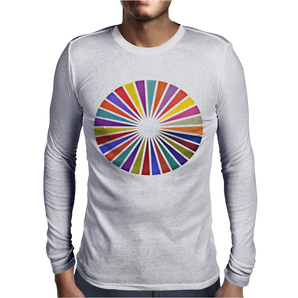 Segmentation Mens Long Sleeve T-Shirt