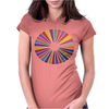 Segmentation Womens Fitted T-Shirt