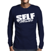 Self Made. Mens Long Sleeve T-Shirt