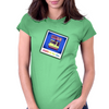 Selfie in the 80s Womens Fitted T-Shirt