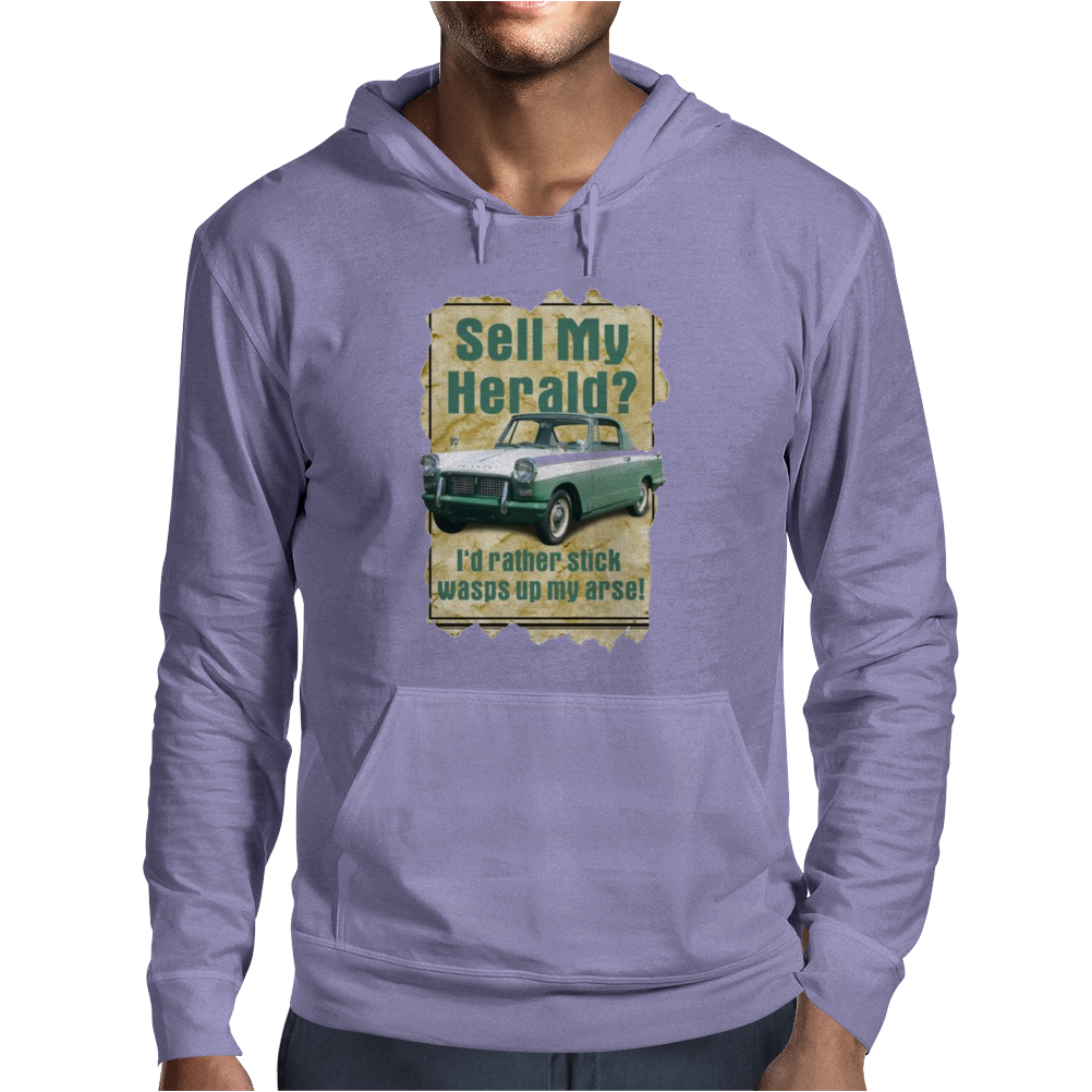 Sell My Herald Ideal Birthday Gift Or Present Mens Hoodie