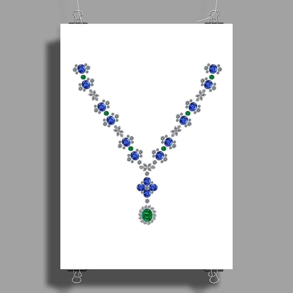 Serenity Necklace Poster Print (Portrait)