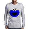 Sesame Street Cookie Monster Mens Long Sleeve T-Shirt