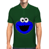 Sesame Street Cookie Monster Mens Polo