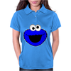 Sesame Street Cookie Monster Womens Polo