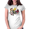 seven deadly sins Womens Fitted T-Shirt